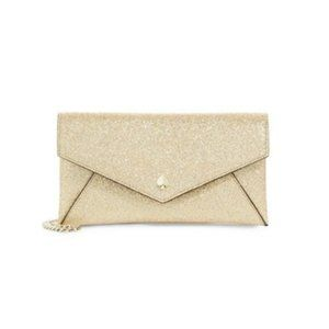 Kate Spade Burgess Court Glitter Leather Wallet